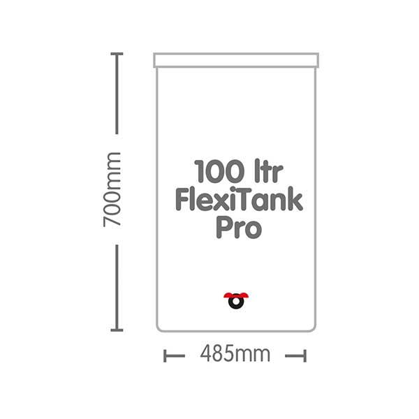 AutoPot 100 Litre FlexiTank Pro