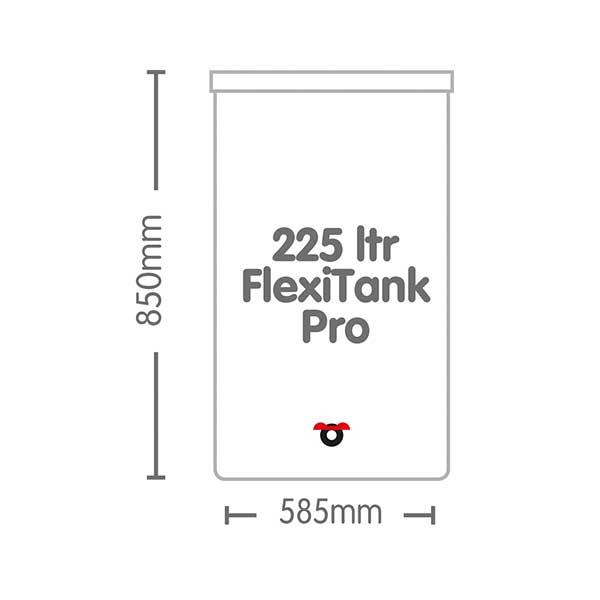 AutoPot 225 Litre FlexiTank Pro